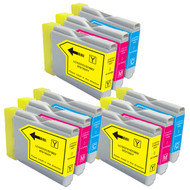 9-Pack COLOR Compatible Ink for Brother LC51