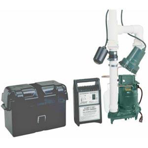Zoeller 507-0005 Basement Sentry Battery Backup Pump System