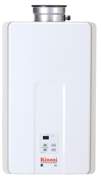 rinnai v65i gas value series tankless water heater