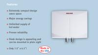 Stiebel Eltron Mini 3 120 Volt Tankless Electric Water Heater