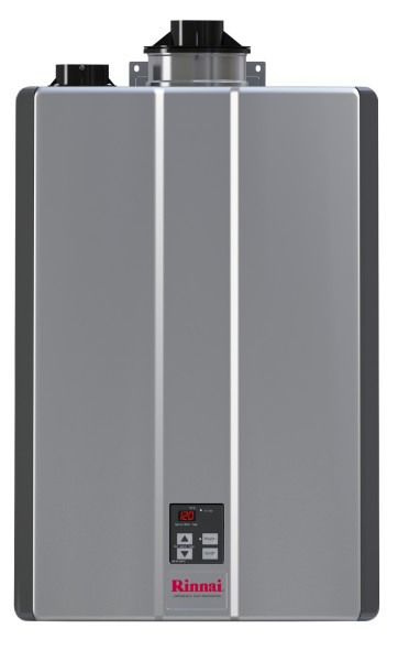 Rinnai RUR199i Super High Efficiency Plus Condensing Indoor Gas Tankless Water Heater