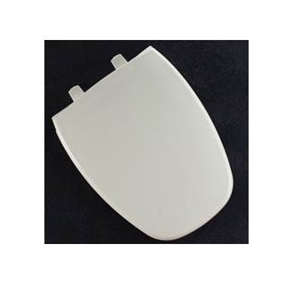 Bemis 1240205000 Eljer Emblem Plastic Elongated Toilet Seat