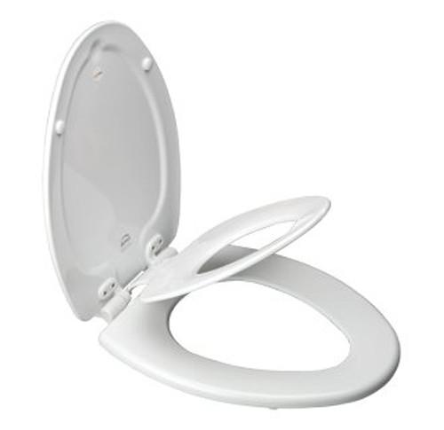 Bemis 1483 Slow Elongated Flip Toilet Potty Seat
