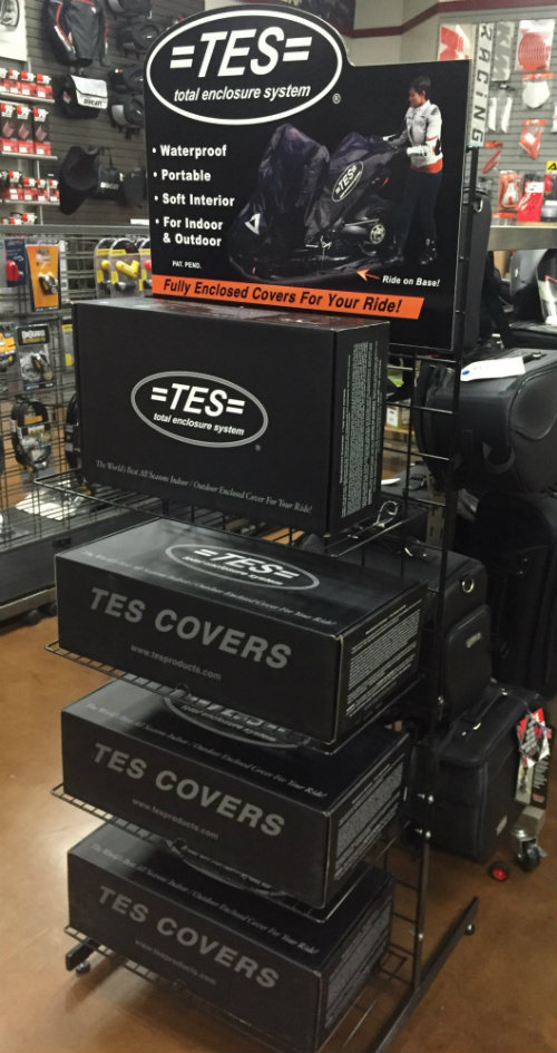 TES Cover Display Stand