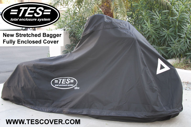 stretched bagger cover