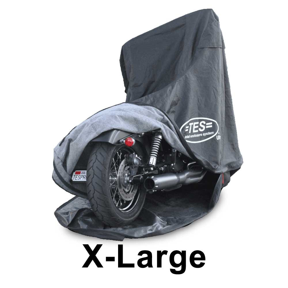 Harley Davidson Covers >> Xl Totally Enclosed Motorcycle Cover For Cruisers Large Sport Bikes