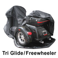 Fully Enclosed  Indoor / Outdoor, waterproof, Motorcycle Cover made for TRI GLIDE FLHTCUTG & FLRT Freewheeler model# U108M1B