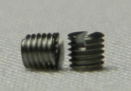 Sport7 German Foil Screws (x2) Side view