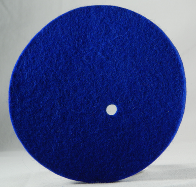Epee Fleece/felt pad for the inside of the bell guard. Inside pad fits inside adult epee guard and child epee guard.