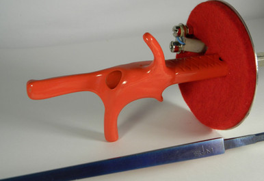 Foil Complete Electric Weapon, STM/Regular (non-FIE) Blade (Blue)