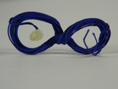 Standard (German) Wire with Contact, Cotton insulation