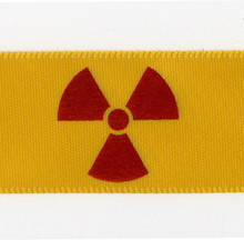 Radiation Symbol Gift Ribbon