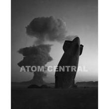 Photograph A-Bomb and Zepplin, 1957