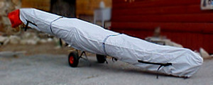Boat Cover - 15ft to 18ft Length - For Edon TS515 sculls and similar