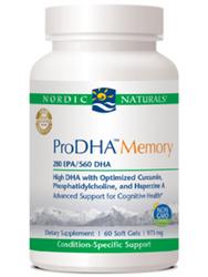ProDHA Memory (60gels)