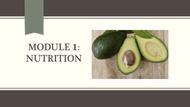 Module #1 - Nutrition (45:47)