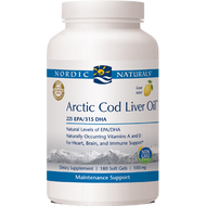 Arctic Cod Liver Oil Lemon (180ct)
