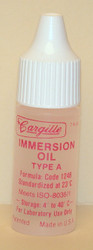 Microscope Immersion Oil Type A Low Viscosity - Cargille