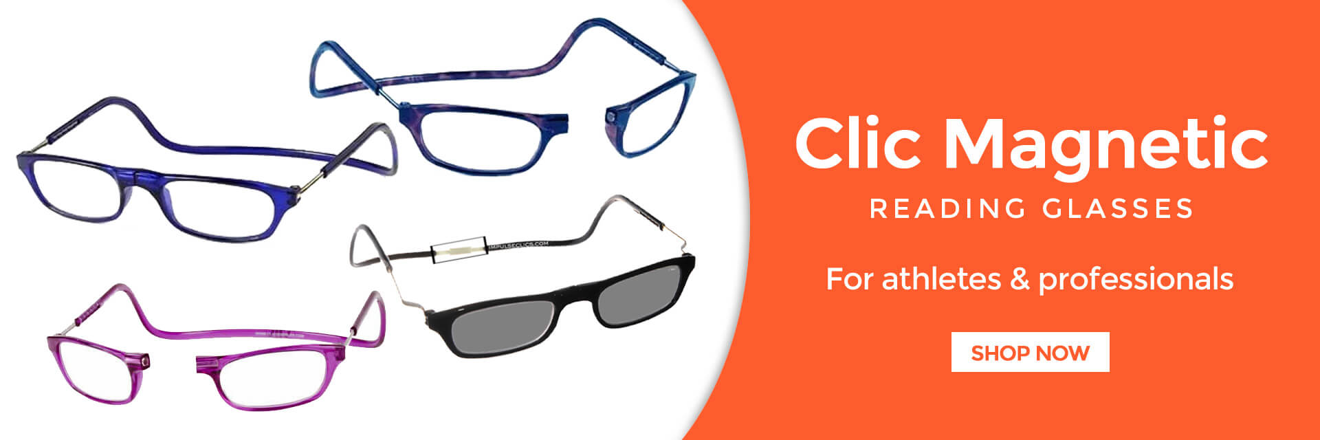 Clic Magnetic Glasses