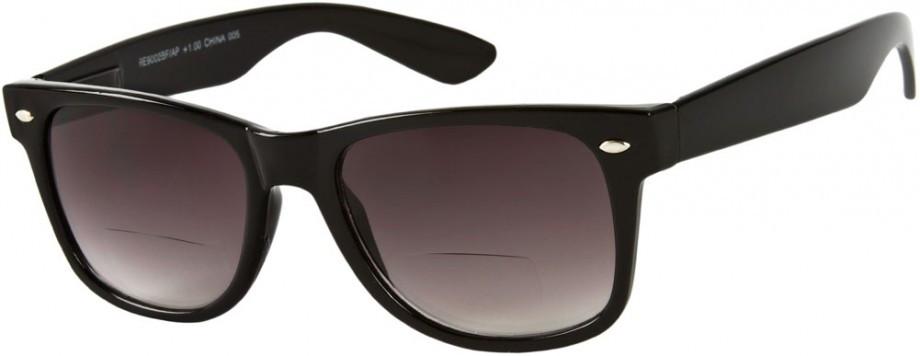fcafe6db5cc Large Bifocal Style Sun Reading Glasses   Smoke - EyeNeeds