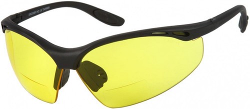 BL Sports Style  Bifocal Reading Glasses /Yellow -ND