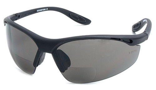 BL Sports Style  Bifocal Sun Reading Glasses / Smoke