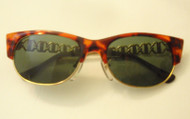 vintage sunglasses tortoise and gold