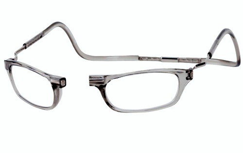 Clic Magnetic Reading Glasses XL Smoke