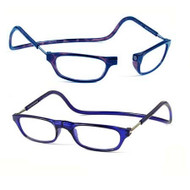 Clic Magnetic Reading Glasses Blue Standard