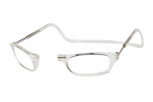Clic Magnetic Reading Glasses Clear Standard