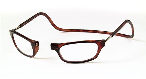 Clic Magnetic Reading Glasses Tortoise Standard