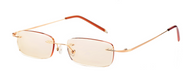 Unisex Computer Light Weight Reading Glasses/ Gold