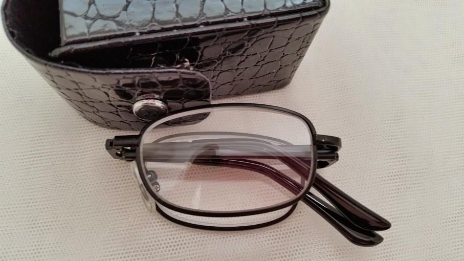 cc5f99a9802 Colin Folding Reading Glasses  Gunmetal-Silver - EyeNeeds