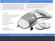 20/20 Hydrotac stick on bifocals lenses
