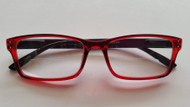Kelly Bifocal Reading Glasses Women /Red