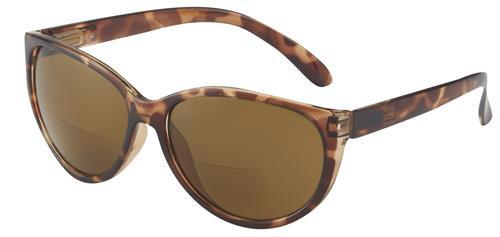 Margo Bifocal Sun Reading Glasses Women /Amber