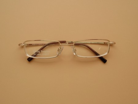 Minus Reading  Glasses/ Gold Unisex