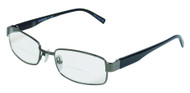 Oscar Bifocal  Reading Glasses / Gun/Black /Gold-