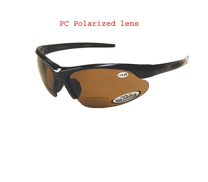 08a1531944 Classic Polarized Bifocal Sun Reading Glasses Amber - EyeNeeds