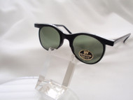 Round Wings Vintage Sunglasses/ Black