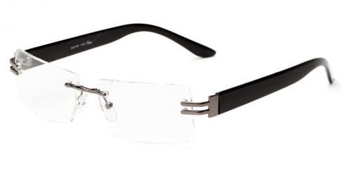 SP Bifocal Reading Glasses For Women/Gunmetal