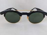 vintage oval club master sunglasses