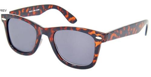 Wayfarer style full sun reading glasses Tortoise