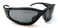 Bikers Bifocal Reading Glasses / Smoke