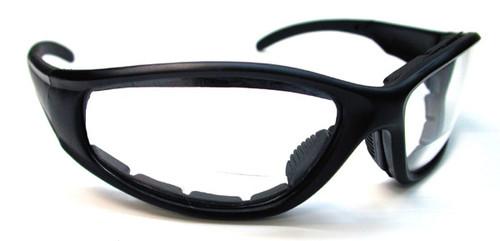 Bifocal Bikers Mens Reading Glasses/Clear