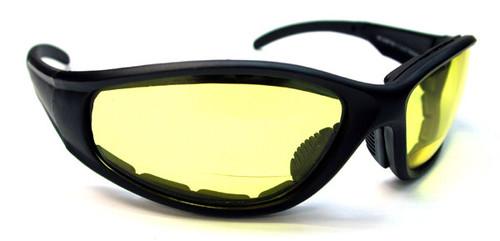 Bikers Bifocal Reading Glasses / Yellow