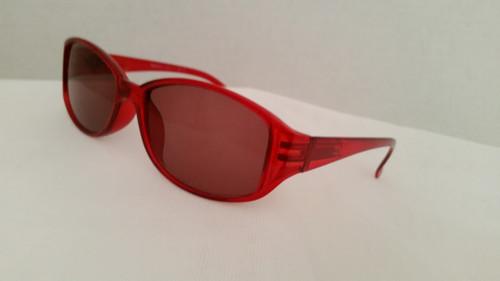 Christina Full Sun Reading Glasses Women's/ Red