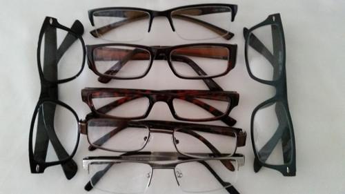 Multi-Pack Assorted Reading Glasses/Men +1.00 & 1.25 (3) For $15