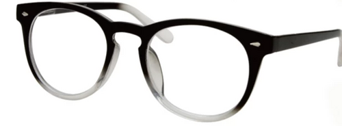 Large plastic men's bifocal readers
