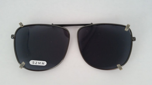 small pilot style clip on sunglasses